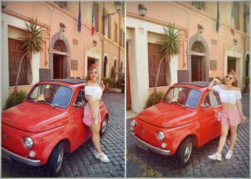 ChicAdicta-Chic-Adicta-fashion-blogger-Vichy-outfit-pinup-girl-retro-style-looks-con-panuelos-shoulder-crop-top-outfit-fiat-500-car-hombros-fuera-look-PiensaenChic-Piensa-en-Chic-1.md.jpg