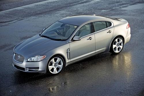 2008 Jaguar XF Silver Sedan Press Image 1200x800p 2