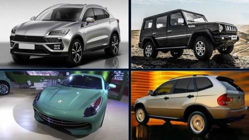 coches chinos copiados